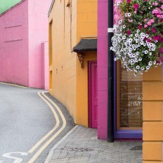 Irische Farben - Druck auf Alu Dibond